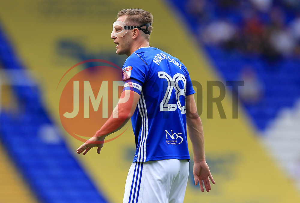 Michael Morrison of Birmingham City - Mandatory by-line: Paul Roberts/JMP - 26/08/2017 - FOOTBALL - St Andrew's Stadium - Birmingham, England - Birmingham City v Reading - Sky Bet Championship