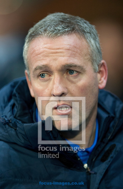 Blackburn Rovers manager Paul Lambert before the Sky Bet Championship match at Ewood Park, Blackburn<br /> Picture by Russell Hart/Focus Images Ltd 07791 688 420<br /> 14/12/2015
