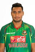 Shubashis Roy, Bangladesh cricket team headshots ahead of their New Zealand tour. Cobham Oval, Whangarei. 21 December 2016. Copyright Image: Heath Johnson / www.photosport.nz