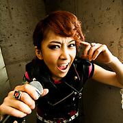 Velvet Geena of the Rock Tigers