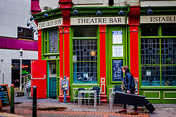The Old Fox pub opposite the Hippodrome Theatre in Birmingham, England UK<br /> <br /> (c) Andrew Wilson | Edinburgh Elite media