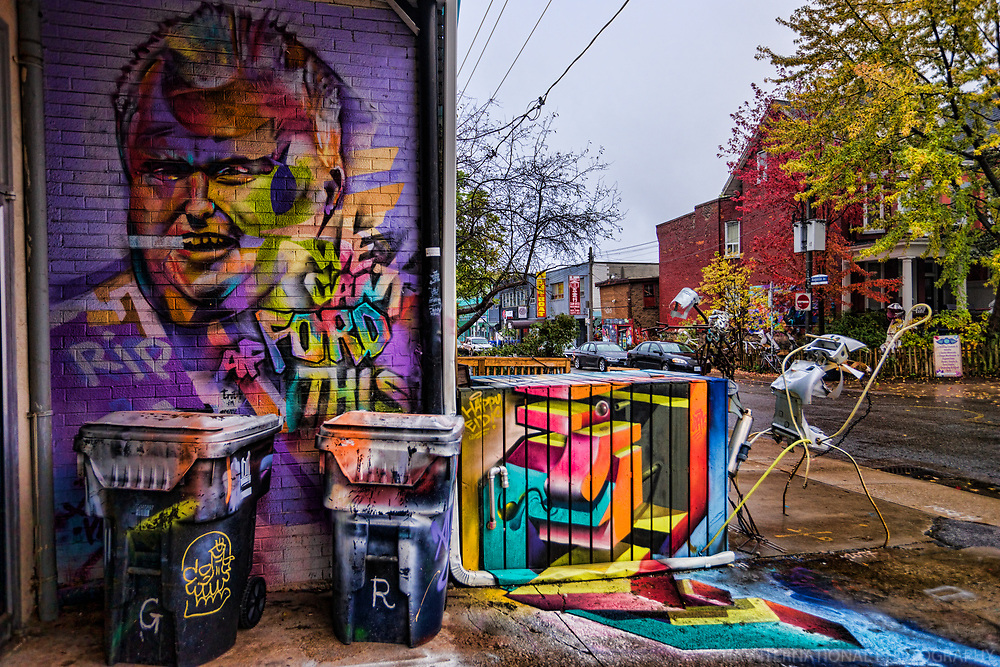Rob Ford Graffiti, Kensington Market