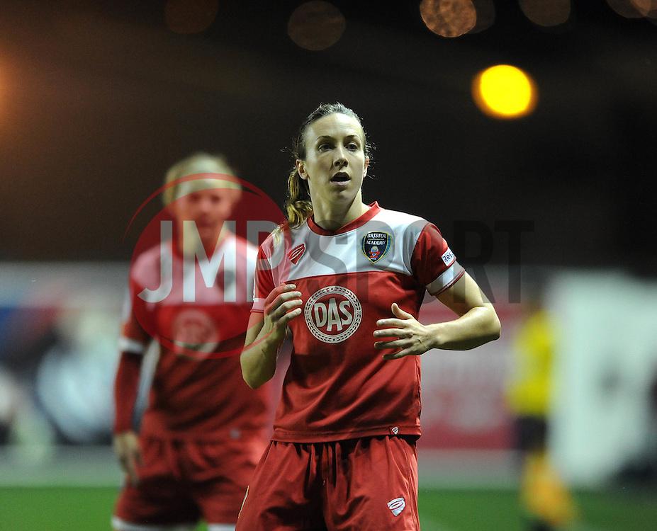 Bristol Academy Womens' Corinne Yorston - Photo mandatory by-line: Dougie Allward/JMP - Mobile: 07966 386802 - 16/10/2014 - SPORT - Football - Bristol - Ashton Gate - Bristol Academy v Raheny United - Women's Champions League