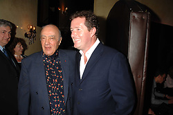 Left to right, MOHAMED AL FAYED and PIERS MORGAN at a party to celebrate the publication of Piers Morgan's book 'Don't You Know Who I Am?' held at Paper, 68 Regent Street, London W1 on 18th April 2007.<br /><br />NON EXCLUSIVE - WORLD RIGHTS