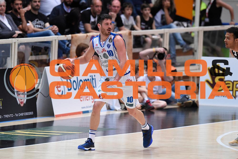 D'Ercole Lorenzo<br /> Quarti di Finale Gara 2<br /> Legabasket A 2016,2017<br /> Trento 14,05,2017<br /> Foto Ciamillo-Castoria,GiulioCiamillo
