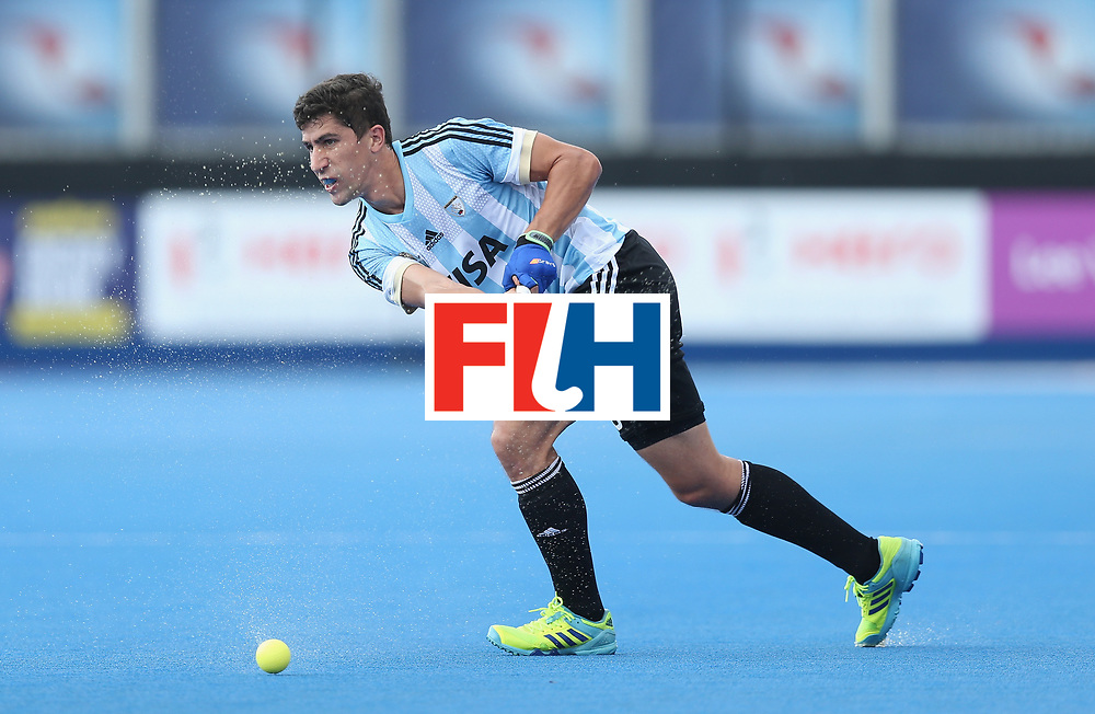 LONDON, ENGLAND - JUNE 18:  Ignacio Ortiz of Argentina during the Hero Hockey World League Semi-Final match between England and Argentina at Lee Valley Hockey and Tennis Centre on June 18, 2017 in London, England.  (Photo by Alex Morton/Getty Images)