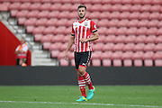 Jack Stephens of Southampton U23's during the Under 23 Premier League 2 match between Southampton and Manchester United at St Mary's Stadium, Southampton, England on 22 August 2016. Photo by Phil Duncan.