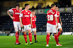 A young Joe Morrell starts his first senior appearance in action against Wycombe Wanderers in the Johnstone's Paint Trophy - Photo mandatory by-line: Joe Dent/JMP - Tel: Mobile: 07966 386802 08/10/2013 - SPORT - FOOTBALL - London Road Stadium - Peterborough - Peterborough United V Brentford - Johnstone Paint Trophy