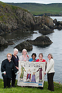 Shetland Stitching group portrait for the Great Tapestry of Scotland project.<br /> www.scotlandstapestry.com<br /> <br /> pictures by Alex Hewitt