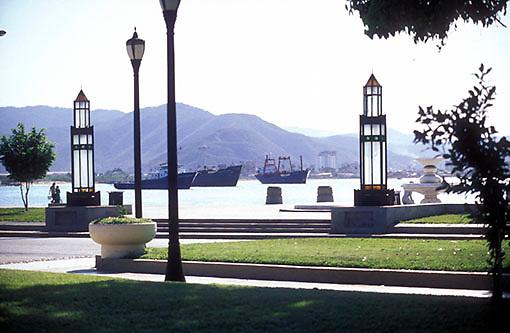 Malecon de Puerto Cabello, Estado Carabobo, Venezuela.