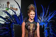 Défilé d'inauguration de la 2eme Edition du Salon du Chocolat à Bruxelles. Lors du défilé chocolat on a pu apercevoir Annelies Törös (Miss Belgique 2015) ainsi que différentes personnalités de l'audio-visuel belge.  Belgique, Bruxelles, le 05 février 2015.