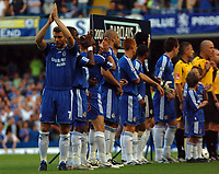 Photo: Tony Oudot.<br /> Chelsea v Blackburn Rovers. The FA Barclays Premiership. 15/09/2007.<br /> Andriy Shevchenko of Chelsea applauds the fans on his return to the first team