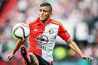 ROTTERDAM - Feyenoord - Willem II , Voetbal , Seizoen 2015/2016 , Eredivisie , Stadion de Kuip , 13-09-2015 , Speler van Feyenoord Bilal Basaçikoglu