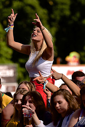 James Morrison fans enjoying the music at T in the Park, Strathallan Castle, Auchterarder, 8 July 2016, <br /> (c) Brian Anderson | Edinburgh Elite media