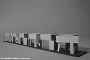 Maquettes d'architecture  à  Galerie d'architecture Monopoli / Montreal / Canada / 2009-03-09, © Photo Marc Gibert / adecom.ca.
