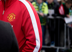 Fans await the Manchester United players at Huish Park  - Photo mandatory by-line: Joe meredith/JMP - Mobile: 07966 386802 - 04/01/2015 - SPORT - football - Yeovil - Huish Park - Yeovil Town v Manchester United - FA Cup - Third Round