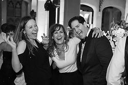 Linda Eder and friends at a wedding reception
