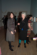 REBECCA JOHN; SUZANNA HERON, Susan Hiller opening, Tate Britain. 31 January 2010. -DO NOT ARCHIVE-© Copyright Photograph by Dafydd Jones. 248 Clapham Rd. London SW9 0PZ. Tel 0207 820 0771. www.dafjones.com.