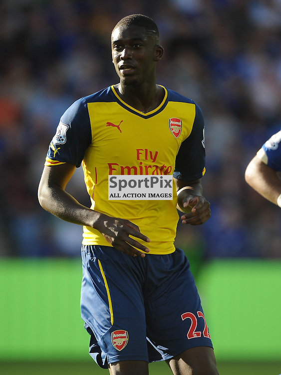 Arsenal Yaya Sonogo, Leicester City v Arsenal, Premiership, King Power Stadium, Leicester, Sunday 31st  August 2014Leicester City v Arsenal, Premiership, King Power Stadium, Leicester, Sunday 31st  August 2014