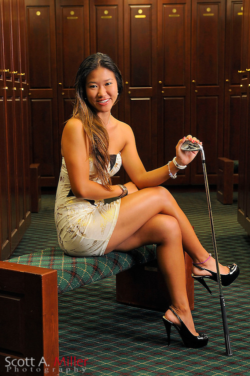 Jean Chau during a portrait shoot prior to the Symetra Tour's Florida's Natural Charity Classic at the Lake Region Yacht and Country Club on March 20, 2012 in Winter Haven, Fla. ..©2012 Scott A. Miller.