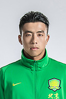 **EXCLUSIVE**Portrait of Chinese soccer player Guo Quanbo of Beijing Sinobo Guoan F.C. for the 2018 Chinese Football Association Super League, in Shanghai, China, 22 February 2018.