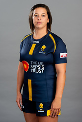Sioned Harries during the Worcester Warriors Women Media Day - Ryan Hiscott/JMP - 28/09/2019 - SPORT - Sixways Stadium - Worcester, England - Worcester Warriors Women Media Day