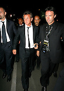20.MAY.2011. CANNES<br /> <br /> SEAN PENN AT THE CANNES BEACH PARTY DURING THE 64TH CANNES INTERNATIONAL FILM FESTIVAL 2011 IN CANNES, FRANCE<br /> <br /> BYLINE: EDBIMAGEARCHIVE.COM<br /> <br /> *THIS IMAGE IS STRICTLY FOR UK NEWSPAPERS AND MAGAZINES ONLY*<br /> *FOR WORLD WIDE SALES AND WEB USE PLEASE CONTACT EDBIMAGEARCHIVE - 0208 954 5968*