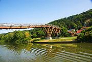 bridge over the Rhine–Main–Danube Canal near Regensburg, Bavaria, Germany