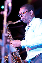 Cheltenham Jazz Festival, Cheltenham, United Kingdom, Ravi Coltrane, performs in the Jazz Arena at Cheltenham Music Festival, Saturday 04 May, 2013, Photo by: i-Images