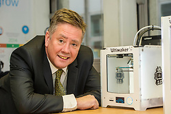 Pictured: Keith Brown<br /> <br /> Today Keith Brown MSP opened Scotland's first Barclays Eagle lab in partnership with CodeBase. The resource allows businesses and communities to access new technologies and boost digital skills while supporting job creation in the local economy. <br /> <br /> Ger Harley | EEm 16 January 2018