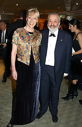 MIKE LEIGH and CHARLOTTE HOLDICH at the 25th annual Awards of the London Film Critics' Circle in aid of the NSPCC held at The Dorchester Hotel, Park Lane, London W1 on 9th February 2005.<br /><br />NON EXCLUSIVE - WORLD RIGHTS