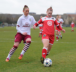 Bristol Academy Womens Nikki Watts  - Photo mandatory by-line: Paul Knight/JMP - Mobile: 07966 386802 - 01/03/2015 - SPORT - Football - Bristol - Stoke Gifford Stadium - Bristol Academy Women v Aston Villa Ladies - Pre-season friendly