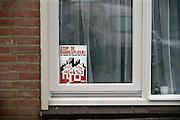 Nederland, Nijmegen, 13-10-2013Protest in de wijk Willemskwartier tegen de huurverhoging voor sociale huurwoningen.Foto: Flip Franssen/Hollandse Hoogte