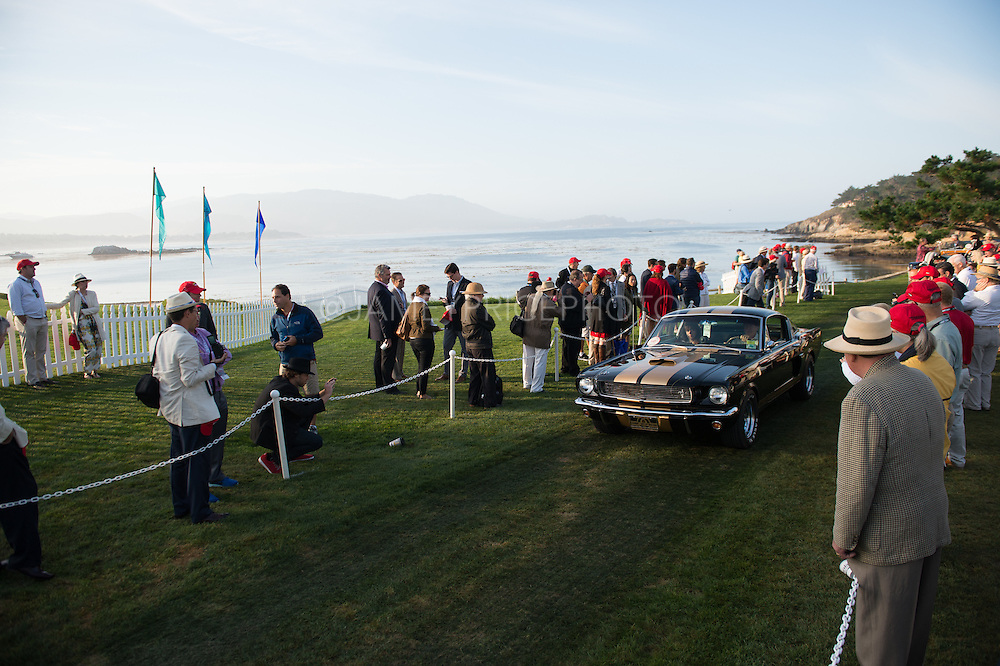 August 14-16, 2012 - Pebble Beach / Monterey Car Week. Dawn patrol at Pebble Beach