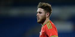 Wes Burns of Wales u21s (Bristol City) - Photo mandatory by-line: Alex James/JMP - Mobile: 07966 386802 - 31/03/2015 - SPORT - Football - Cardiff - Cardiff City Stadium - Wales v Bulgaria - U21s International Friendly