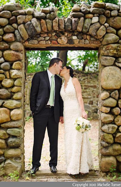 Thompson Island Wedding.  Images by Massachusetts wedding photographer Michelle Turner.