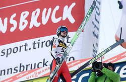 Robert Kranjec of Slovenia after he competed during Final round of the FIS Ski Jumping World Cup event of the 58th Four Hills ski jumping tournament, on January 3, 2010 in Bergisel, Innsbruck, Austria.(Photo by Vid Ponikvar / Sportida)