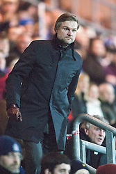 Steven Pressley, Falkirk manager..Falkirk 1 v 1 Dundee..© Michael Schofield.