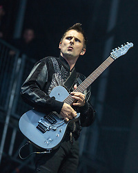 May 25, 2018 - Napa, California, U.S - MATTHEW BELLAMY of Muse during BottleRock Music Festival at Napa Valley Expo in Napa, California (Credit Image: © Daniel DeSlover via ZUMA Wire)