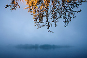 Fog on the Susquehanna River<br />