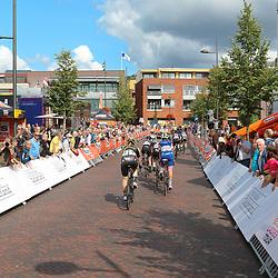 30-08-2018: Wielrennen: Ladies Tour: Gennep<br />Passage kopgroep Gennep