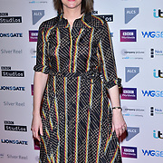 Nicole Taylor attends The Writers' Guild Awards at Royal College of Physicians on 15th January 2018.