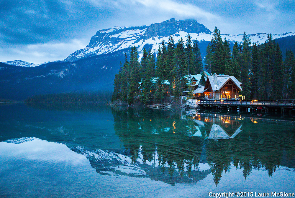Emerald Lake British Columbia Canada