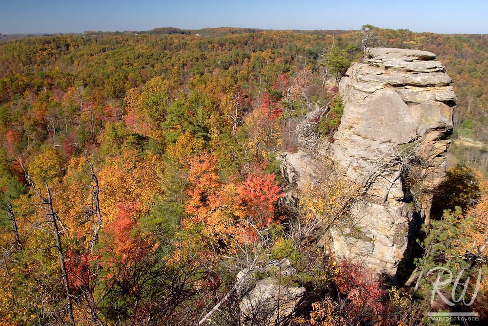 Scenic Vista from Lover's Leap, Natural Bridge State Resort Park, Kentucky