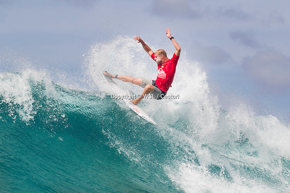 "Mick Fanning of Australia (pictured) winning his Quiksilver Pro Round 1 heat to advance directly in to Round 3 on the Gold Coast of Australia on March 9, 2016. \nIMAGE CREDIT: WSL / Cestari\nPHOTOGRAPHER: Kelly Cestari\nSOCIAL MEDIA TAG: @wsl @kc80\nThis image within this email is the copyright of the Association of Surfing Professionals LLC (""World Surf League"") and has been furnished to the receiver of this email royalty-free but for editorial use only. No commercial or other rights are granted to the Images in any way. The Images are provided on an ""as is"" basis and no warranty is provided for use of a particular purpose. Rights to an individual within an Image are not provided. Sale or license of the Images is prohibited."