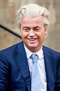 16-1-2018 AMSTERDAM - GEERT WILDERS King Willem-Alexander and Queen Maxima hold Tuesday, January 16th, 2018 the traditional New Year Reception for Dutch guests. The receptions are held in the Royal Palace in Amsterdam. Both receipts Royal Highnesses Princess Beatrix and Princess Margriet of the Netherlands and Professor Pieter van Vollenhoven present. COPYRIGHT ROBIN UTRECHT
