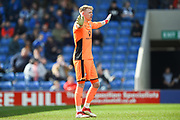 Chesterfield goalkeeper Aaron Ramsdale (1) during the EFL Sky Bet League 2 match between Chesterfield and Notts County at the b2net stadium, Chesterfield, England on 25 March 2018. Picture by Jon Hobley.