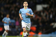 Manchester City midfielder Phil Foden (47) during the Champions League match between Manchester City and Dinamo Zagreb at the Etihad Stadium, Manchester, England on 1 October 2019.
