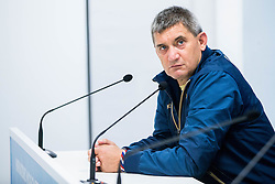 Marijan Pusnik, head coach of HNK Hajduk during press conference after the football match between HNK Rijeka and HNK Hajduk Split in Round #15 of 1st HNL League 2016/17, on November 5, 2016 in Rujevica stadium, Rijeka, Croatia. Photo by Vid Ponikvar / Sportida