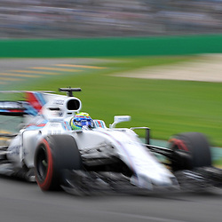 Felipe Massa, Williams Martini F1 Team.<br /> <br /> Round 1 - 3rd day of the 2017 Formula 1 Rolex Australian Grand Prix at The circuit of Albert Park, Melbourne, Victoria on the 25th March 2017.<br /> Wayne Neal | SportPix.org.uk